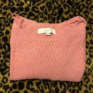 LOFT sweater- M